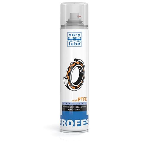 Универсальная литиевая белая смазка с PTFE