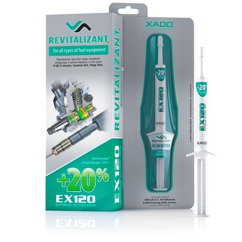 Ревитализант EX120 для всех типов топливной аппаратуры