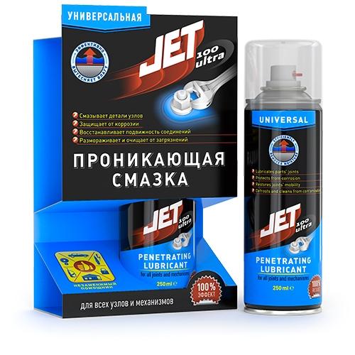 Jet 100 Ultra- Универсальная проникающая смазка