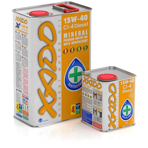 XADO Atomic Oil 15W-40 CI-4 Diesel
