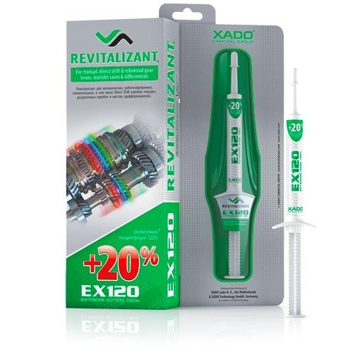 Ревитализант EX120 для КПП и редукторов